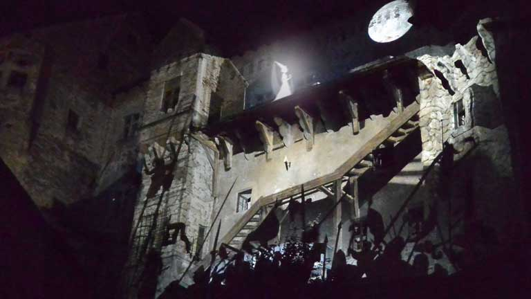 architectural projection mapping