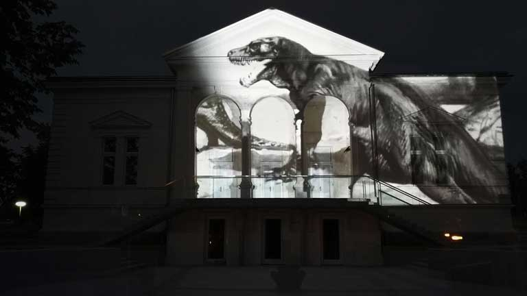 Event projection mapping